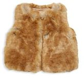 Chloé Little Girl's & Girl's Fuzzy Waistcoat
