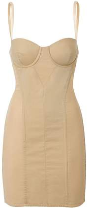 Burberry Cotton Gabardine Corset Dress