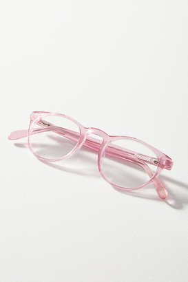 Anthropologie Cindy Shimmer Reading Glasses By in Pink Size 2.5X