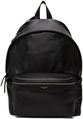 Saint Laurent Black City Backpack