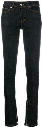 Societe Anonyme Embroidered Skinny Jeans