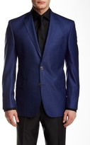 Ted Baker Jay Navy Two Button Wool Blend Suit Separates Jacket