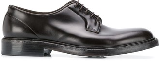 Green George derby shoes