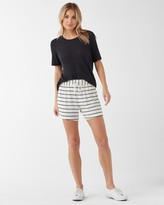 Splendid Super Soft French Terry Stripe Active Short