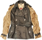 Burberry Leather parka