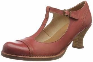 Neosens Women's S849 Restored Skin Rococo T-Bar Heels