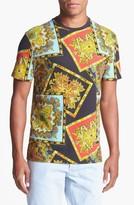 Topman Baroque Paisley Print T-Shirt