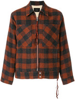 Stampd checked shirt coat