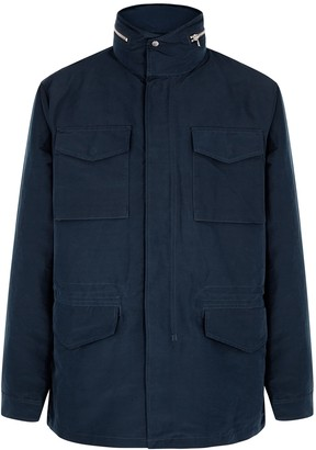 NN07 Navy shell field jacket