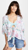 L-Space Lily Cover Up Top