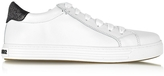 DSQUARED2 Tennis Club White and Black Leather Sneaker