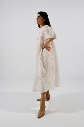 Sister Jane Organza Oversized Midi Dress