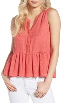 Cupcakes And Cashmere Women's Hughes Embroidered Tank
