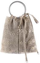 Sergio Rossi Ring Lizard Handle Bag