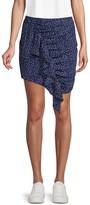 Lea & Viola Dotted Mini Skirt