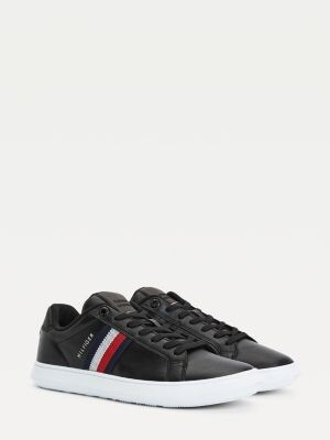 Tommy Hilfiger Essential Leather Cupsole Trainers