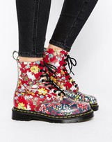 Dr. Martens Pascal Multi Floral 8-Eye Boots