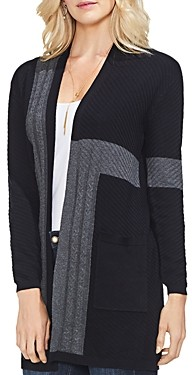 Vince Camuto Color Blocked Cardigan