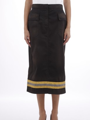 Calvin Klein Skirt With Reflective Band