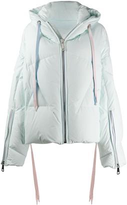 KHRISJOY Oversized Hooded Puffer Jacket