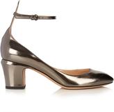 Valentino Tango block-heel leather pumps