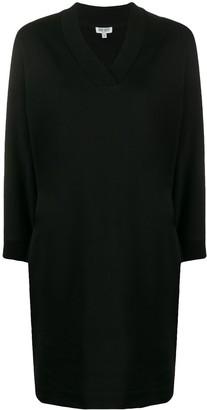 Kenzo Crystal Logo Sweatshirt Dress