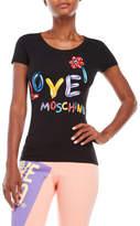 Love Moschino Balloon Animal Tee