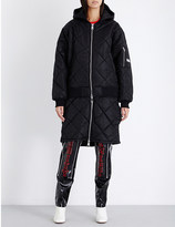 Hood by Air Against cotton-quilted jacket