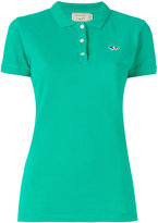 MAISON KITSUNÉ logo polo shirt - women - Cotton - XS