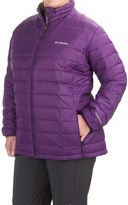 Columbia Voodoo Falls 590 TurboDown® Jacket - 550 Fill Power (For Plus Size Women)