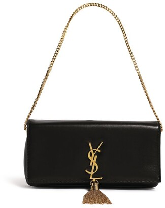 Saint Laurent Leather Kate Baguette Bag