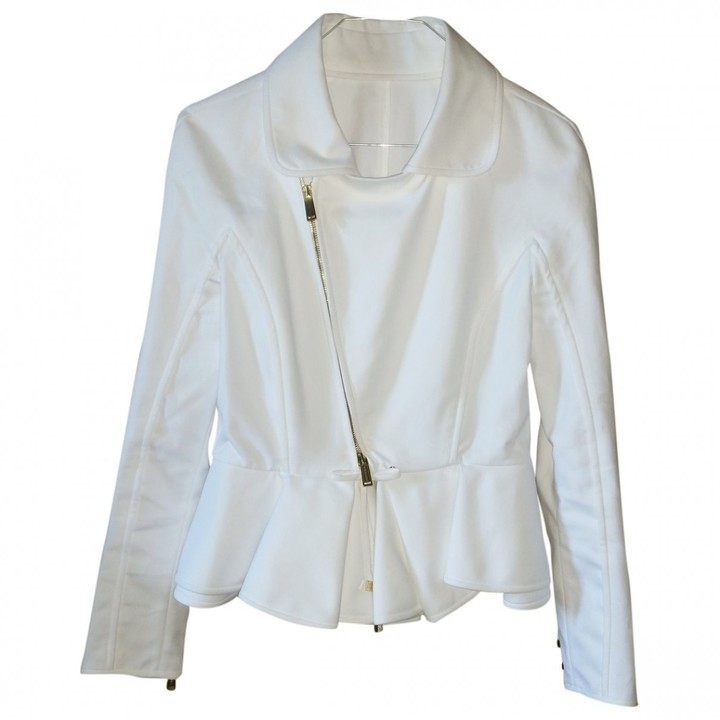 DSQUARED2 White Viscose Jackets