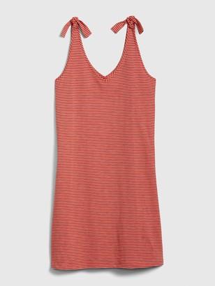 Gap Tank Tie Sleeve Dress