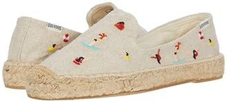 Soludos Swimmers Platform Espadrille (Sand) Women's Shoes