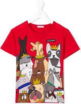 Dolce & Gabbana dogs printed T-shirt