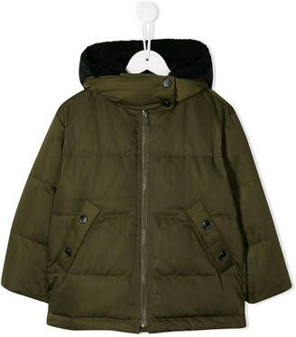 Yves Salomon Enfant Quilted Down Jacket