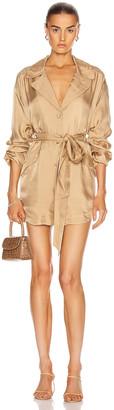 Cinq à Sept Kiera Dress in Gold | FWRD