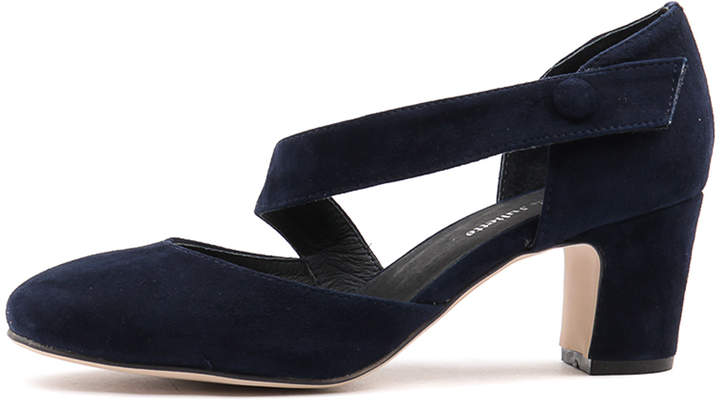 Django & Juliette Everyone Navy-navy Shoes Womens Shoes Dress Heeled Shoes