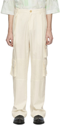 Off-White St-Henri Burning Desert Cargo Pants