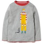 Boy's Mini Boden Reversible Graphic T-Shirt
