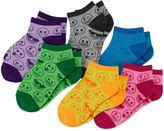 Asstd National Brand Emoji 6-pk. Allover Socks