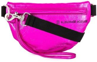 MM6 MAISON MARGIELA Metallic Two-Compartment Belt Bag
