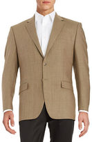 Lauren Ralph Lauren Silk-Blend Two-Button Jacket