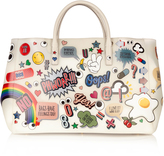 Anya Hindmarch All Over Stickers Ebury Maxi rubber tote