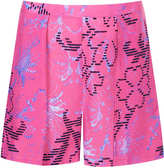 Topshop Pink Indian Summer Print Shorts