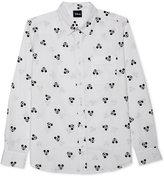 JEM Men's Mickey Mouse Long Sleeve Shirt