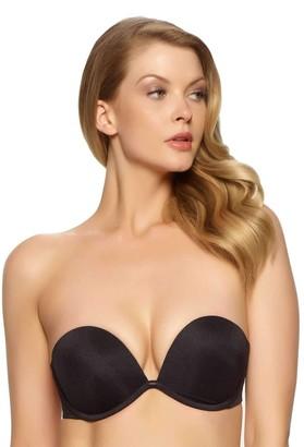 Felina Women's Bra of The Year Convertible Strapless Deep Plunge Bra