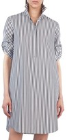 Akris Punto Women's Stripe Cotton Shirtdress