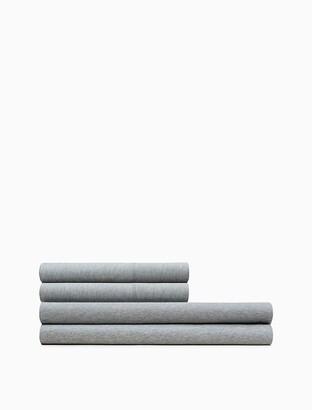 Calvin Klein Modern Cotton - Body Flat Sheet In Grey