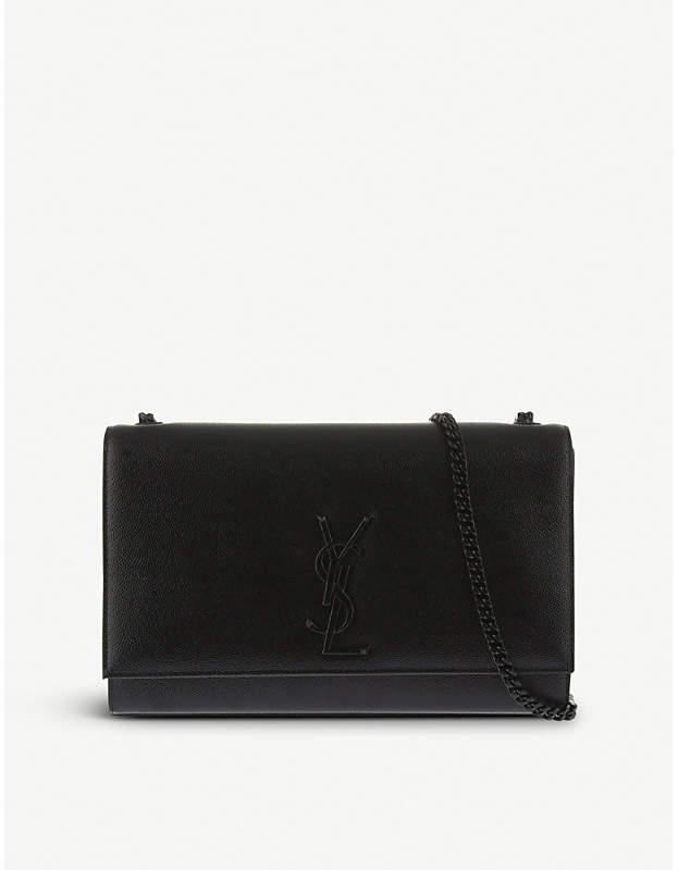 Saint Laurent Medium grain leather satchel